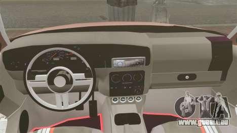 Volkswagen Golf MK3 Turbo pour GTA 4 est un côté