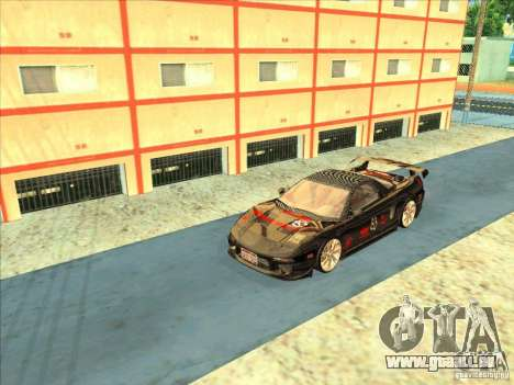 Acura NSX 1991 Tunable pour GTA San Andreas vue arrière