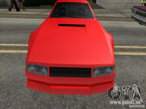 Couleurs plus vives pour les voitures pour GTA San Andreas deuxième écran
