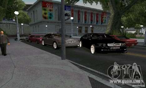 BMW 760LI pour GTA San Andreas vue arrière