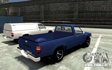 Toyota Hilux 1989-1993 Single cab v1 pour GTA 4 est un droit