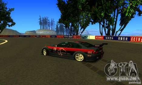 F1 Shanghai International Circuit für GTA San Andreas her Screenshot