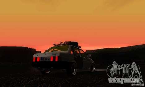 Look Rat 21099 VAZ pour GTA San Andreas laissé vue