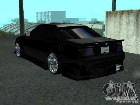 Toyota Chaser JZX 100 Tunable für GTA San Andreas rechten Ansicht