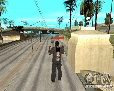 Batterie Energizer pour GTA San Andreas quatrième écran