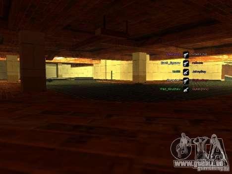 Neue Garage für SFPD für GTA San Andreas zweiten Screenshot
