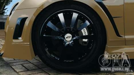 Bentley Continental GT Premier v1.0 pour GTA 4 est une vue de dessous