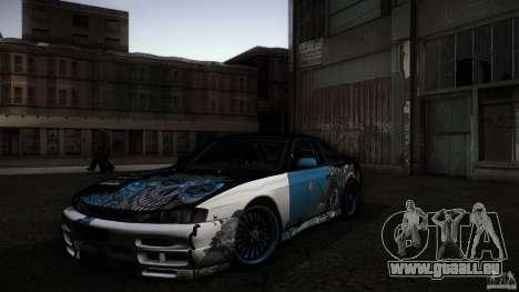 Nissan Silvia S14 NoNgrata für GTA San Andreas Seitenansicht