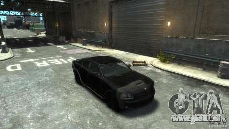 Dodge Charger Fast Five pour GTA 4