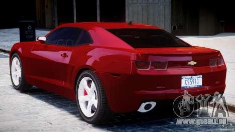 Chevrolet Camaro SS 2009 v2.0 pour GTA 4 est un droit