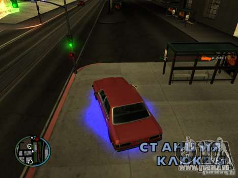 KILL LOG pour GTA San Andreas cinquième écran