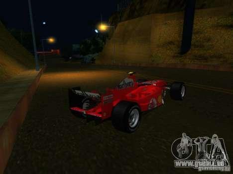 Ferrari F1 für GTA San Andreas linke Ansicht