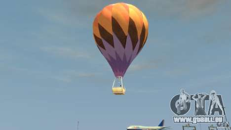 Balloon Tours option 1 für GTA 4 linke Ansicht