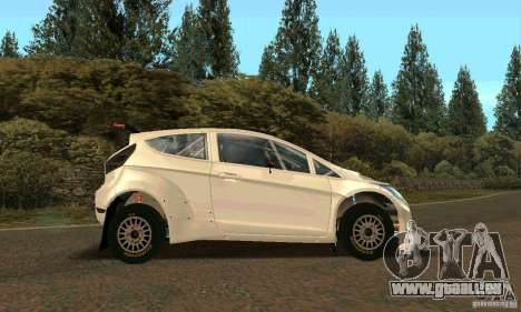 Ford Fiesta Rally pour GTA San Andreas roue