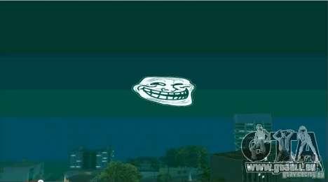 Trollface Moon pour GTA San Andreas deuxième écran
