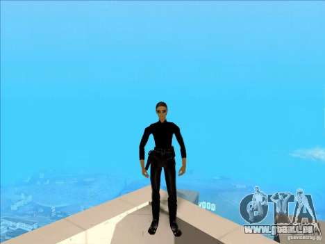 Matrix Skin Pack für GTA San Andreas dritten Screenshot