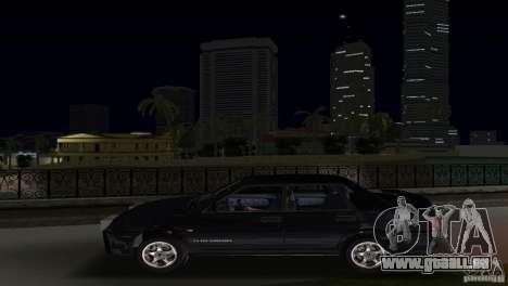 VAZ 21099 DeLuxe pour une vue GTA Vice City de la droite