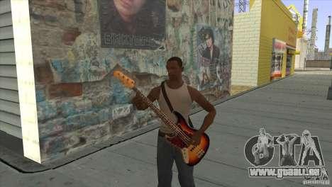 Film-Songs auf der Gitarre für GTA San Andreas neunten Screenshot