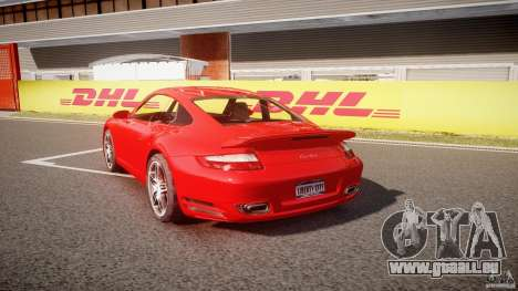Porsche 911 Turbo V3 (final) pour GTA 4 Vue arrière de la gauche