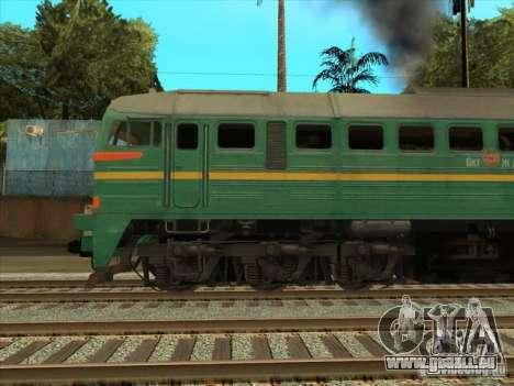 Chemin de fer d'États baltes locomotive fret pho pour GTA San Andreas vue de droite
