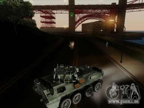 LAV-25 für GTA San Andreas obere Ansicht