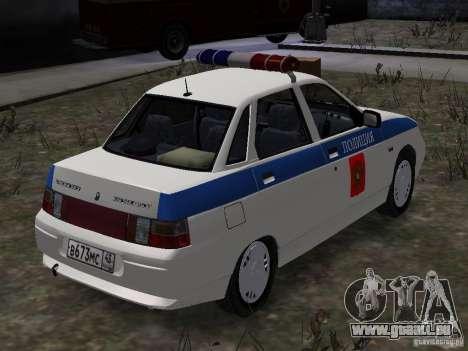 VAZ 2110 DPS pour GTA 4 Vue arrière de la gauche