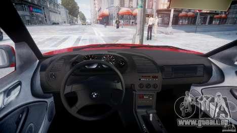 BMW 318i Light Tuning v1.1 für GTA 4 Rückansicht