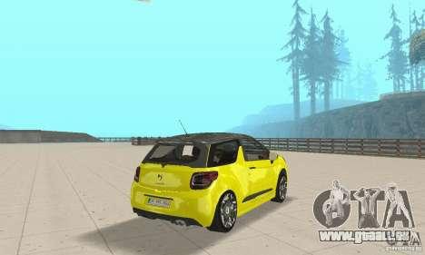 Citroen Ds3 Sport 2011 für GTA San Andreas linke Ansicht