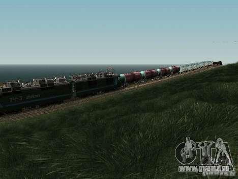Vl80s-2532 pour GTA San Andreas vue intérieure