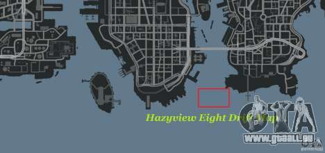 Hazyview Eight Drift Map für GTA 4 sechsten Screenshot