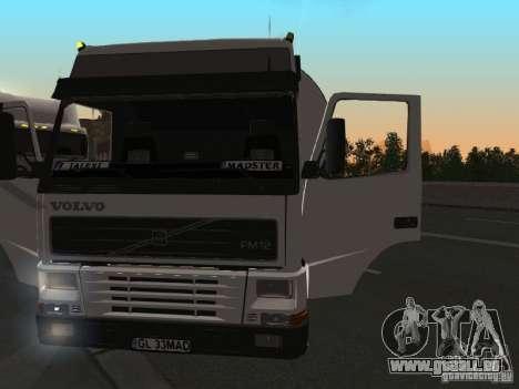 Volvo FM12 pour GTA San Andreas vue de droite