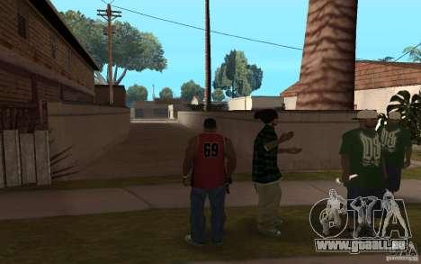 Grove Street Skin Pack für GTA San Andreas her Screenshot
