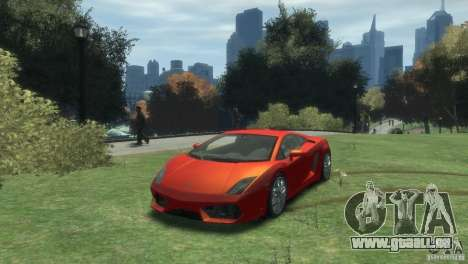 Lamborghini Gallardo LP 560-4 pour GTA 4