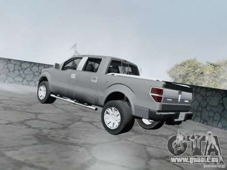Lincoln Mark LT 2013 pour GTA San Andreas laissé vue