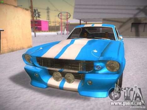 Shelby GT500 Eleanor pour GTA San Andreas