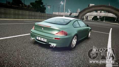 BMW M6 v1.0 für GTA 4 obere Ansicht