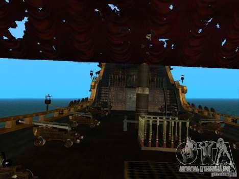 Queen Annes Revenge pour GTA San Andreas vue de droite