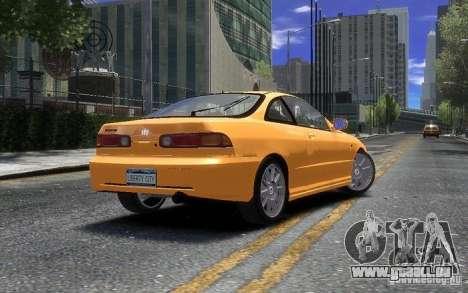 Honda Integra Type R pour GTA 4 est une gauche
