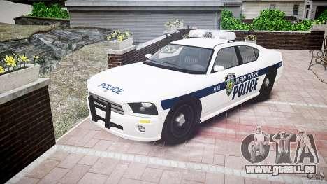 FIB Buffalo NYPD Police für GTA 4 Rückansicht