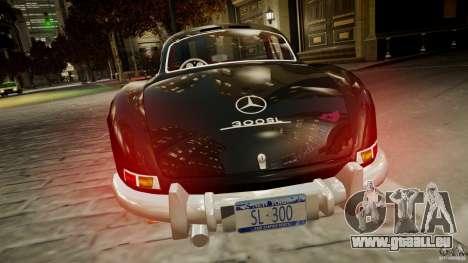 Mercedes-Benz 300 SL Gullwing für GTA 4 hinten links Ansicht