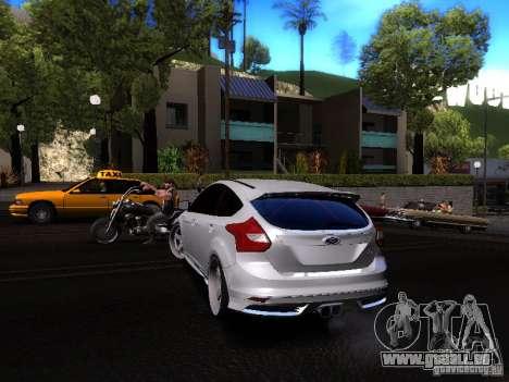 Ford Focus 2012 ST pour GTA San Andreas vue de droite