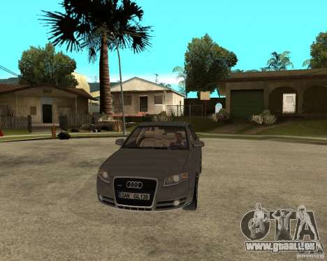 Audi A4 2005 Avant 3.2 quattro pour GTA San Andreas vue arrière