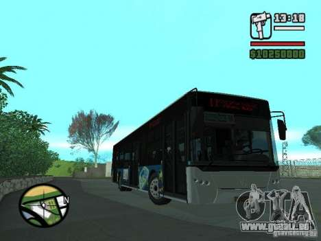 CityLAZ 12 LF pour GTA San Andreas