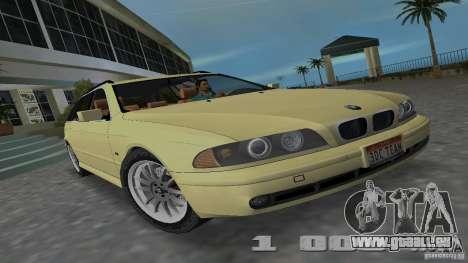 BMW 5S Touring E39 pour GTA Vice City