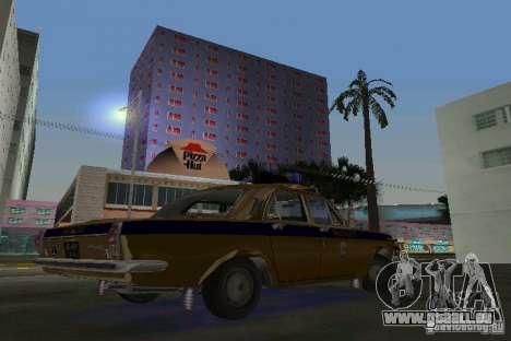 GAZ-24 Miliz für GTA Vice City rechten Ansicht