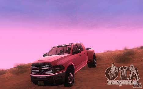 Dodge Ram 3500 Laramie 2010 für GTA San Andreas