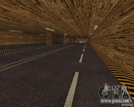 Nouvelles routes pour GTA San Andreas quatrième écran