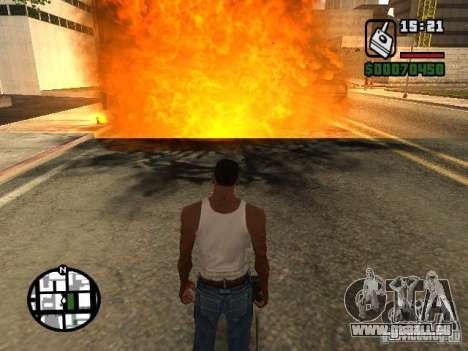 Dynamite pour GTA San Andreas troisième écran