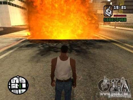 Dynamit für GTA San Andreas dritten Screenshot