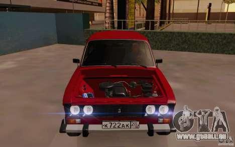 VAZ 2106 Drain für GTA San Andreas Seitenansicht